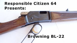 Browning BL 22 Lever Action 22LR