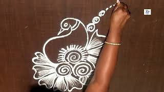 Creative & Simple Kolam / rangoli Design