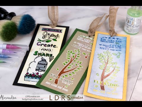 A Bible Journalling Bookmark Trio: A handmade DIY card making tutorial