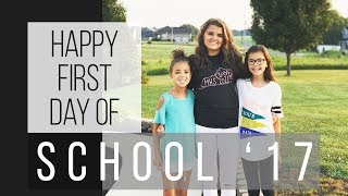 FIRST DAY OF SCHOOL | WHY ARE WE CRYING? | BACK TO SCHOOL 2017 | KIDS FIRST DAY BACK TO SCHOOL