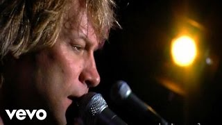 Bon Jovi You Want To Make A Memory Stripped