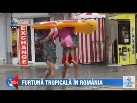 Stirile Kanal D (13.07.2018) - Furtuna tropicala in Romania! Editie COMPLETA