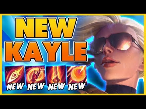 *NEW EVERYTHING* PENTAKILL ON REWORKED KAYLE (RIOT???) - BunnyFuFuu