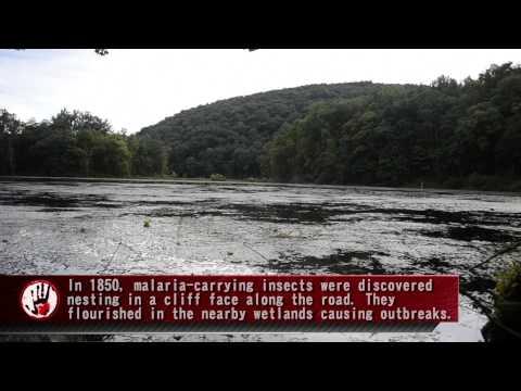 Lenape Indian Cave at Shades of Death Road - NJ