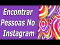 Como Encontrar Amigos do Facebook no Instagram - YouTube