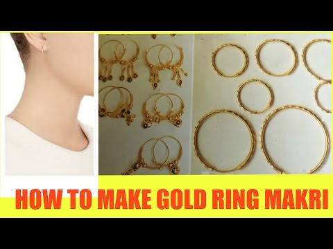 how-to-make-gold-ear-ring-.jewellery-gold-ear-ring