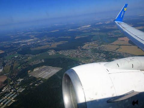 Взлет из Домодедово Boeing 737-800 Nordwind