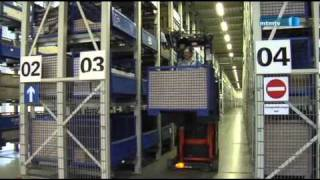 Prozessoptimierung in VW Logistikzentren