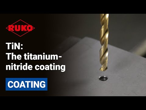 TiN: The titanium-nitride coating