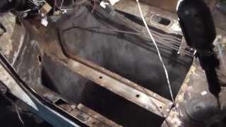 Замена днища(передние части,ванна-корыто,ланжерон)ВАЗ ЛАДА 099.