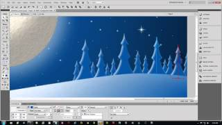 Adobe Fireworks CS5 Tutorial on How To Make Christmas 3D Vector Scene Part 3