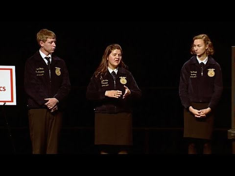 2016 Agricultural Issues Forum CDE Finals