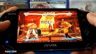 PS Vita - Street Fighter X Tekken Gameplay