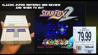 SNES classic edition mini, by Nintendo