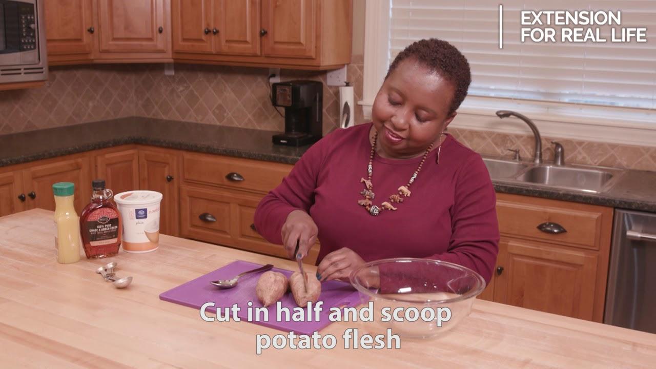 Food Factor: Maple Sweet Potatoes