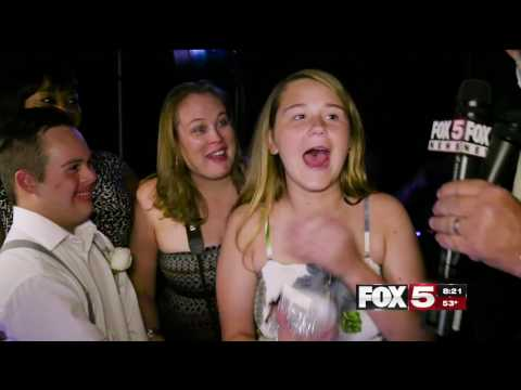 FOX5 Surprise Squad - GIRL ASKS STUDENT WITH DOWN SYNDROME TO HOMECOMING - GETS HUGE SURPRISE!