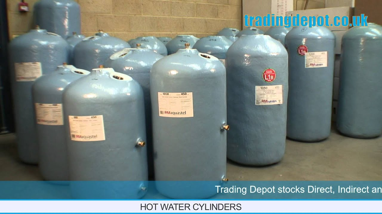 TRADING DEPOT: RM Cylinders Direct, Indirect & Economy 7 Hot Water ...
