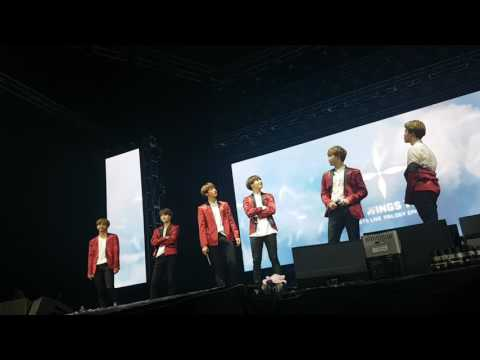 170507 BTS reaction to V's self made memes and AKO DIN during MENT - WINGS TOUR IN MANILA DAY 2
