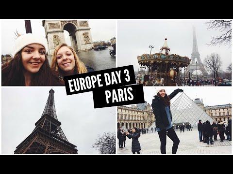 TRAVEL VLOG: EUROPE DAY 3 - PARIS, Contiki Winter Wanderer 2017