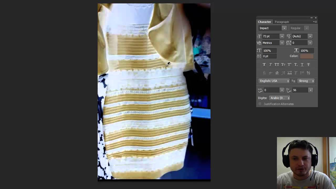 62e55f17d089 What color is this dress? Science of #TheDress explained! - YouTube