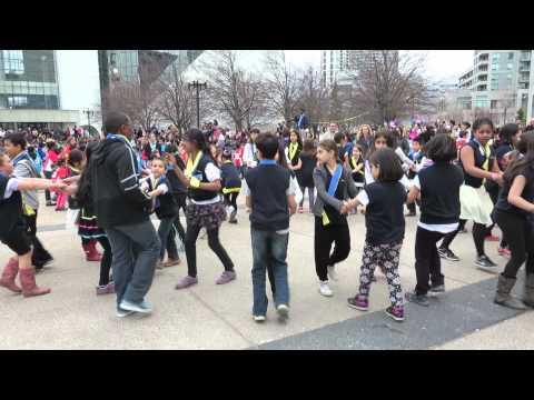 Dallington Public School-9- Folkfest Folk Dance Jamboree- 5 May 2014