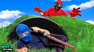 I Escaped and Survived The Mystery Ninja Sneaking Into My House!