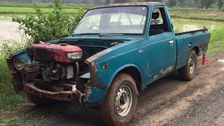 Pickup truck with tractor Diesel engine Part 1/2
