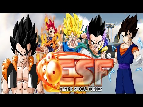 All Transformations & Fusions - DBZ: ESF ECX RC2 - (PC Gameplay)