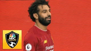 Mohamed Salah shreds Arsenal for Liverpool's third goal | Premier League | NBC Sports