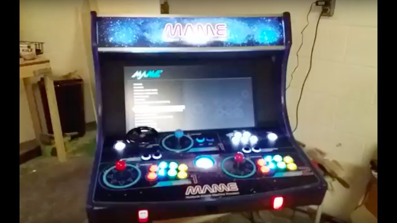 JasonGlisson com | Web Developer | Building a Bartop Arcade