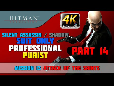 Hitman: Absolution - Walkthrough - Shadow/Suit Only/Evidence/No Knockout/Purist - Mission #5 from YouTube · High Definition · Duration:  17 minutes  · 20,000+ views · uploaded on 2/26/2016 · uploaded by Centerstrain01