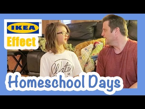Homeschool Days- IKEA Effect! Day 1321 | ActOutGames