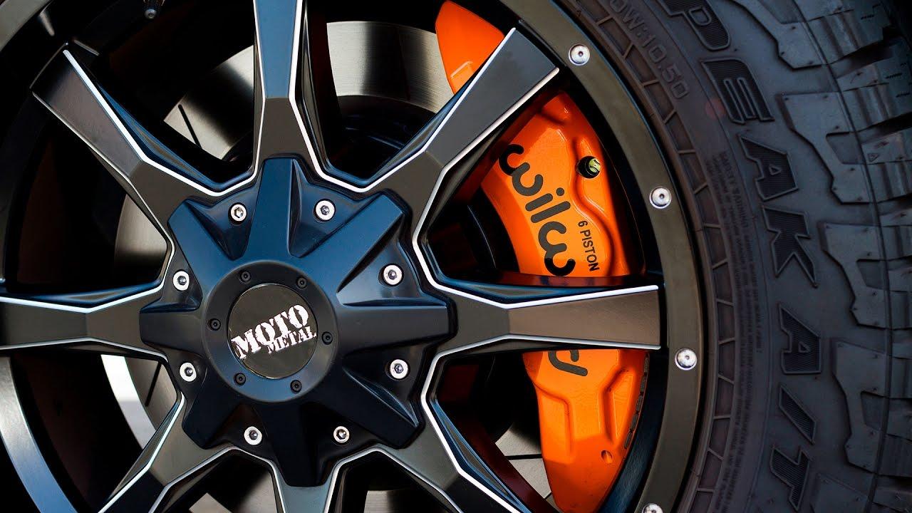 9b57e5ad7d41fe Wilwood s Nissan NV2500 Brake Install - YouTube