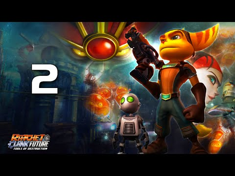 Ratchet and Clank Tools of Destruction: Playthrough Part 2[Planet Cobalia]