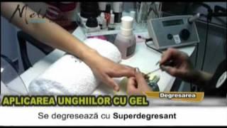 Aplicarea unghiilor cu gel - www.melkior.ro
