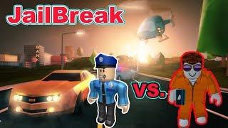 ROBBER vs. POLICEMAN! | ROBLOX JAILBREAK #1