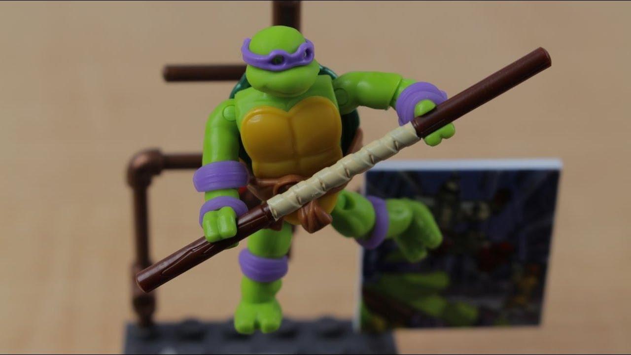 New Mega Bloks TMNT Minifigure Series 1 Donatello Figure
