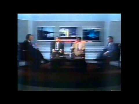 "CHAMADA DO PROGRAMA ""DEBATE EM MANCHETE"" (TV MANCHETE, 1990)"