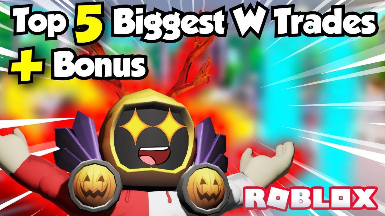 TOP 5 BIGGEST Win TRADES I DID PLUS BONUS TRADES😱