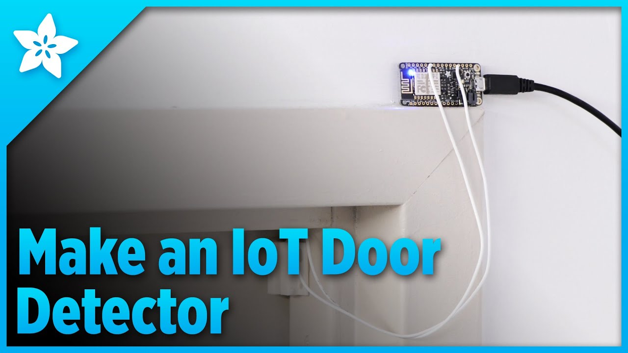Make An Iot Door Detector Makeitminute Youtube How To Build A Alarm Circuit