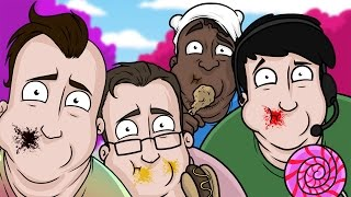 NEW CANDYLAND MAP! - Golf With Friends Funny Moments