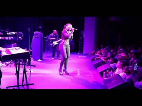 Bridget Kelly performing Special Delivery live in DC