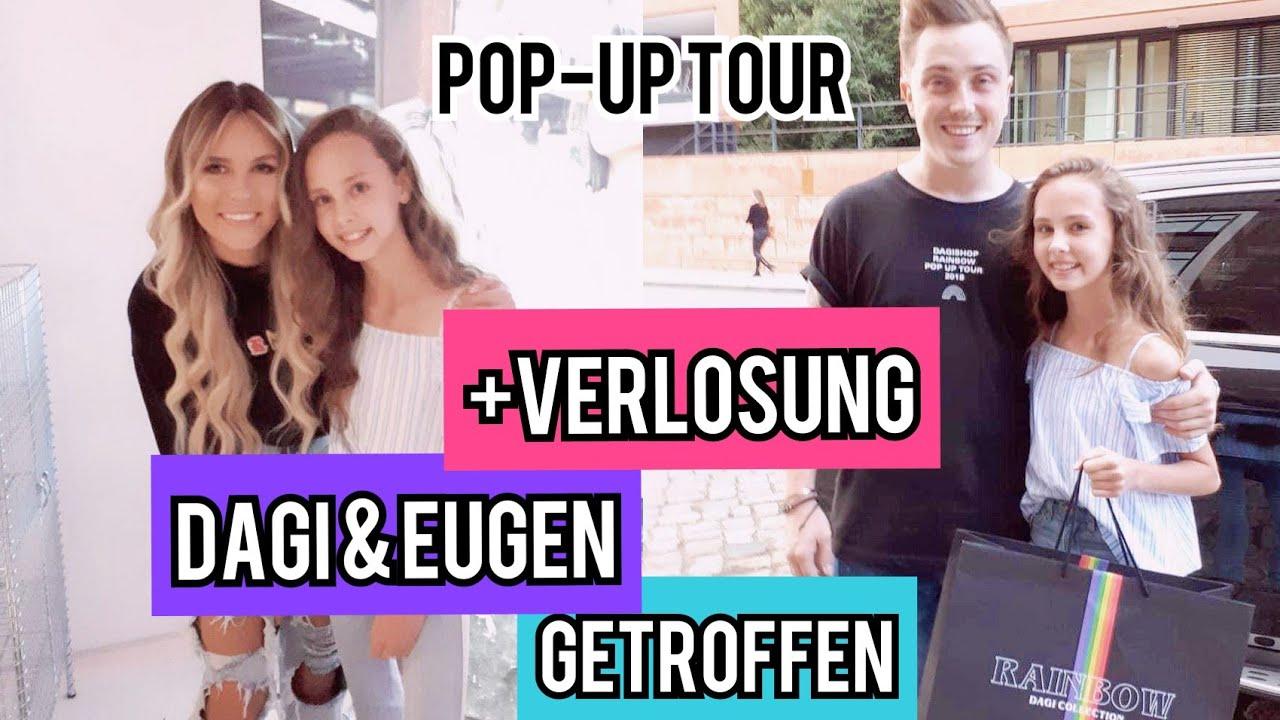 Dagi Bee Eugen Getroffen Dagi Pop Up Tour 2018 Coole Verlosung