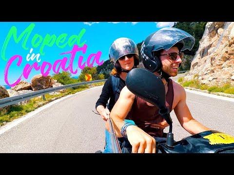 GETTING MY MUM ON A MOTORBIKE || BRAC || TRAVEL CROATIA || CROATIA VLOG #16
