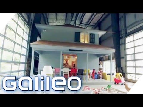 Diese Familie wohnt in einem kleinen Haus in einem großen Haus   Galileo Lunch Break