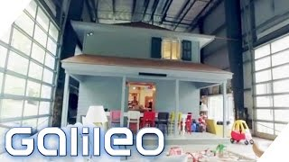 Diese Familie wohnt in einem kleinen Haus in einem großen Haus | Galileo Lunch Break