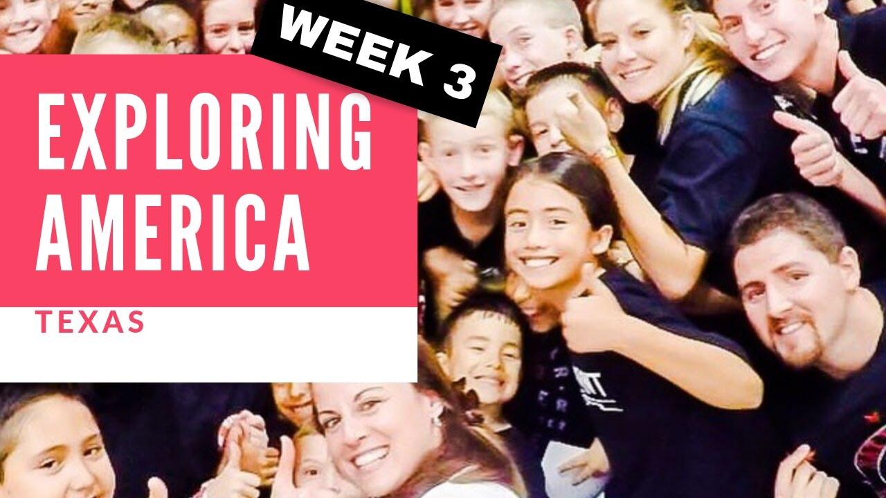 Chloe Bruce tours America   Texas   My VLOG week 3