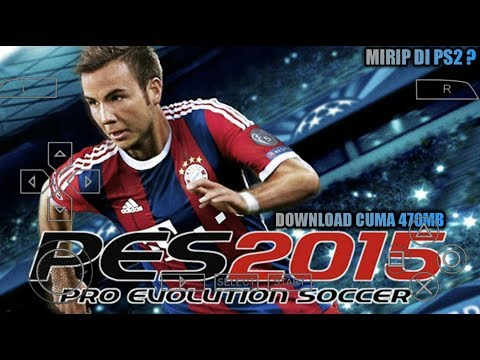 Cara Download Dan Install Game PES 2015 (Latino) PPSSPP Android