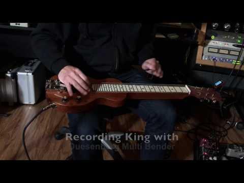 Recording King, Larrivee, Songhurst, Slide Song with Multibender Duesenberg, Strymon