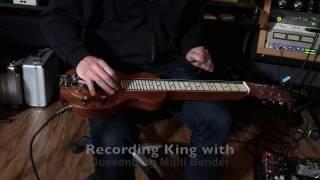 recording king larrivee songhurst slide song with multibender duesenberg strymon